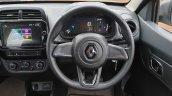 2019 Renault Kwid Review Images Steering Wheel 9d3