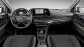 2020 Hyundai I20 Interior Dashboard Lime Green Tri