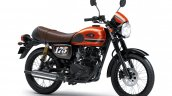 2020 Kawasaki W175 Cafe Orange Front Three Quarter