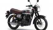 2020 Kawasaki W175 Cafe Silver Front Three Quarter