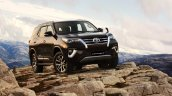 Toyota Fortuner Front Three Quarters