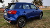 2020 Maruti Vitara Brezza Facelift Rear Three Quar