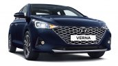 2020 Hyundai Verna Facelift Front Three Quarters 9