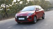 Hyundai Aura Review Images Front Three Quarters Ac