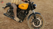 Royal Enfield Meteor Fron Three Quarter Yellow