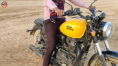 Royal Enfield Meteor Yellow