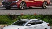 2021 Hyundai Elantra Vs 2019 Hyundai Elantra Exter