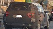 7 Seat Hyundai Creta Rear Three Quarters Spy Shot