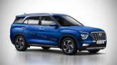 7 Seat Hyundai Creta Seven Seater Rendering Iab