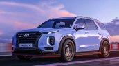 Hyundai Palisade N Front Three Quarters