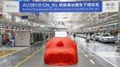 2021 Audi A3 Sedan Long Wheelbase Production 734b