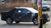 Hyundai Santa Cruz Side Profile Spy Shot