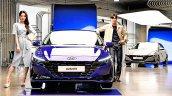 2021 Hyundai Elantra Front Launch