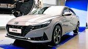 2021 Hyundai Elantra Front Three Quarters Launch