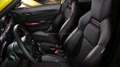 Suzuki Swift Sport Hybrid Front Seats