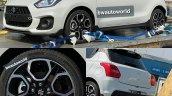 Suzuki Swift Sport India Spy Shot