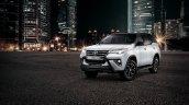 Toyota Fortuner Epic Black Exterior Front Three Qu