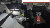 2021 Kia Carnival Sedona Ka4 Seats Spy Shot