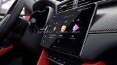 2020 Mg Zs Petrol Facelift Interior Infotainment S