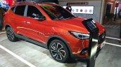 New Mg Zs Petrol Facelift Front Three Quarters Rig