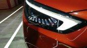 New Mg Zs Petrol Facelift Headlamp Auto Expo 2020