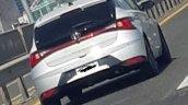2020 Hyundai I20 White Spy Shot