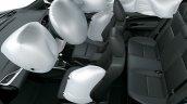 2018 Toyota Vios Toyota Yaris Sedan Cabin Airbags