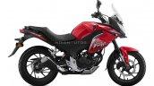 2020 Honda Cbf190x Right Red