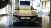 2021 Hyundai Elantra Grey Front