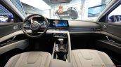 2021 Hyundai Elantra Interior Dashboard Live Image