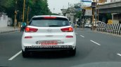 Hyundai I30 Rear Spy Shot India 69d2