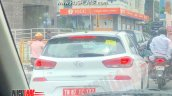 Hyundai I30 Spy Shot India 601d