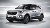 2020 Hyundai Creta Russia Facelift Front Three Qua