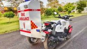 Hero Xtreme Ambulance Rear Three Quarter