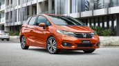 New Honda Jazz Facelift Front Three Quarters Right