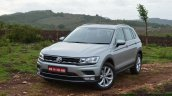 2017 Vw Tiguan Front Quarter Left First Drive Revi