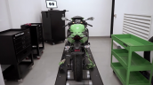 Kawasaki Zx 25r On Dyno Rear
