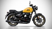 Royal Enfield Meteor 350 Render Yellow