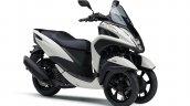 2020 Yamaha Tricity 155 White Front Three Rt