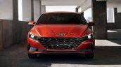 2021 Hyundai Elantra Orange Front