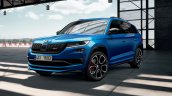 Skoda Kodiaq Rs Challenge Front Three Quarters Db6