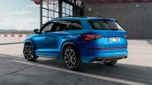Skoda Kodiaq Rs Challenge Rear Three Quarters 939b