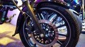2018 Bajaj Avenger 220 Street Unveiled Front Wheel