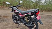 Bajaj Platina 110 H Gear Review Black And Red Colo