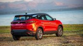 2020 Tata Harrier Review Images Rear Three Quarter