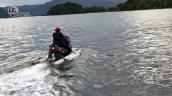Modified Yamaha Nmax Jet Ski Action Shot