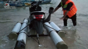 Modified Yamaha Nmax Jet Ski Rear
