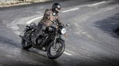 Triumph Bonneville T120 Black Action Shot