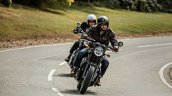 Triumph Bonneville T120 Black In Action
