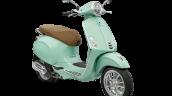 Vespa Primavera Mint Green Front 3 Quarter
